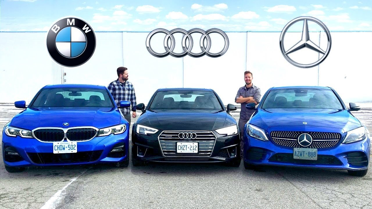 2019 Bmw 3 Series Vs Audi A4 Vs Mercedes C Class Battle Of Kings
