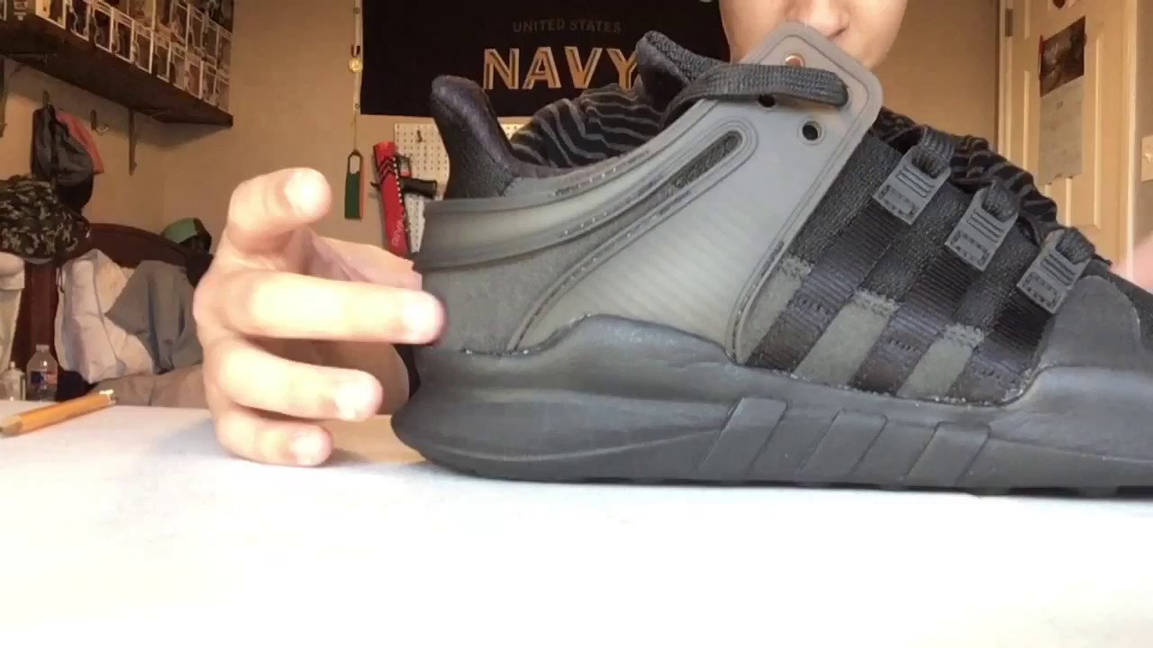 purchase cheap 86b24 e9554 EQT Support ADV UnboxingOn Foot Review