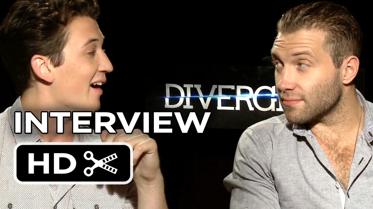 divergent interview miles teller jai courtney sci fi divergent interview miles teller jai courtney 2014 sci fi movie hd
