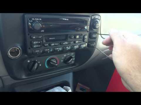 1995 -2000 ford explorer new radio install