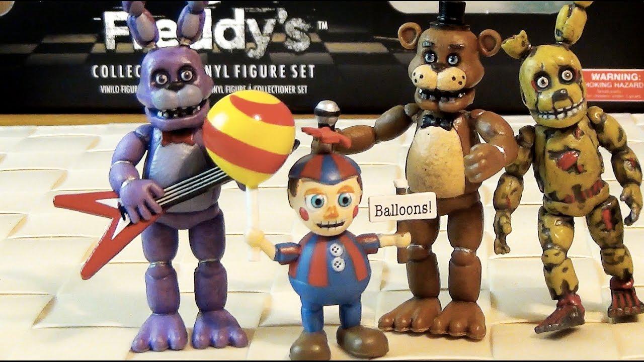 5 ночей с фредди купить игрушки фигурки