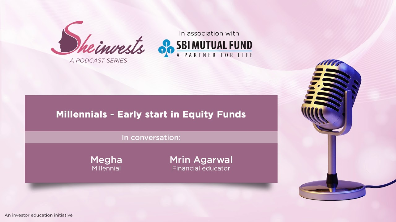 early start in equity funds she invests sbi mutual fund youtube