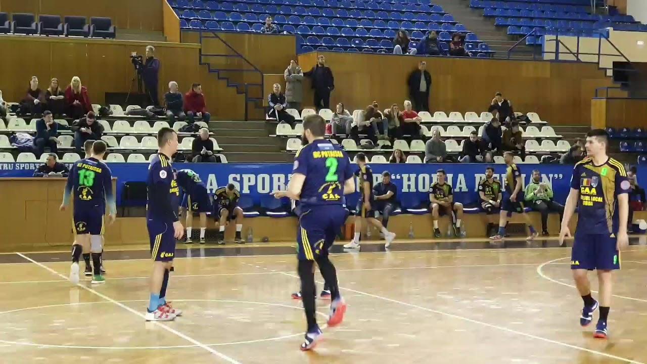 Amical: U Cluj - Potaissa Turda 25-49 (19.01.2019)