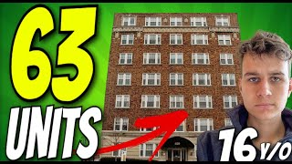 63 Unit Apartment Building In New York State Analysis   Deal Destruction Ep. 08