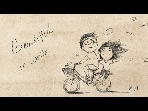 Beautiful In White - Westlife (Shane filan) with Lyric