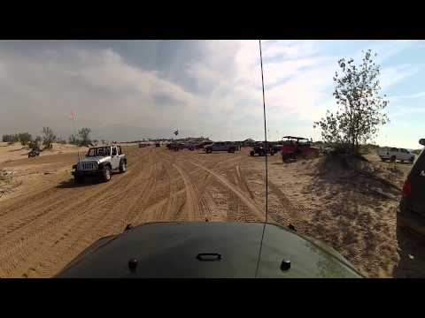Jeep Fest At The Beach! Wrangler City