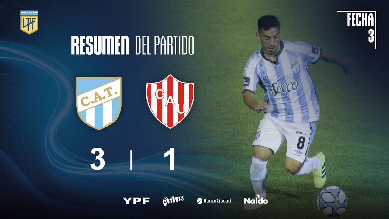 Copa Liga Profesional | Fecha 3 | resumen de Atlético Tucumán - Unión