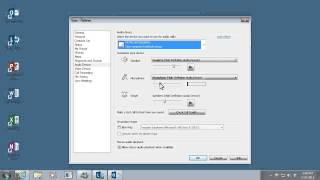 Lync 2013 | Set up your audio