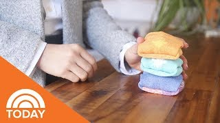 This Genius Method Of Folding Socks Will Save Space In Your Drawer | TODAY
