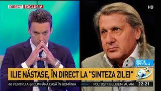 Baixar Ilie Năstase, detalii despre incidentul cu polițiștii, în direct la Antena 3: Îmi pare rău că