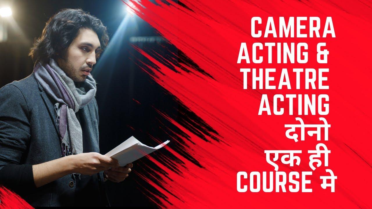 Drama Rehearsal With Intermediate Acting Batch at Lets Act, Mumbai