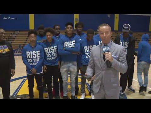 Warner Bros. Studios, Mark S. Allen honor Grant Union High School basketball team