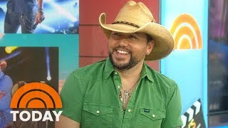 Country Superstar Jason Aldean Reveals His Pre-Show Rituals On TODAY's Take | TODAY