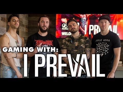 I Prevail Play Fortnite At The 98KUPD Studios