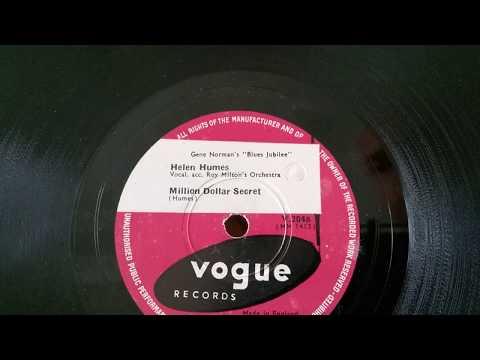 Helen Humes - Million Dollar Secret - HMV 157 Gramophone - Vogue 78rpm