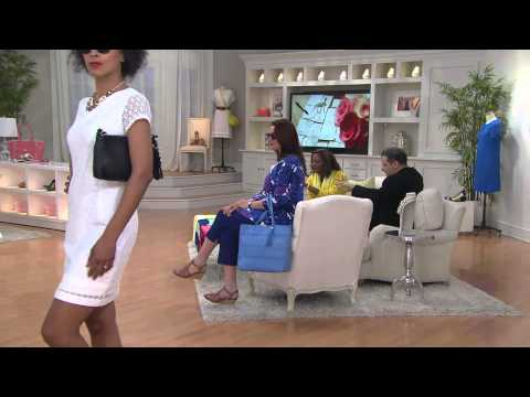 Isaac Mizrahi Live! Fisherman Open Toe Wedge Sandals With Albany Irvin