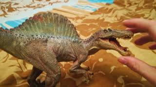 Обзор на мои фигурки динозавров от папо и шляйх часть 1