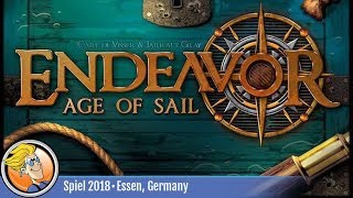 Endeavor: Age of Sail — game overview at SPIEL