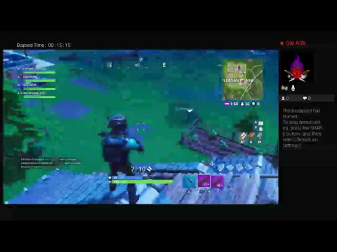 Fortnite game play ft cole and mr goat