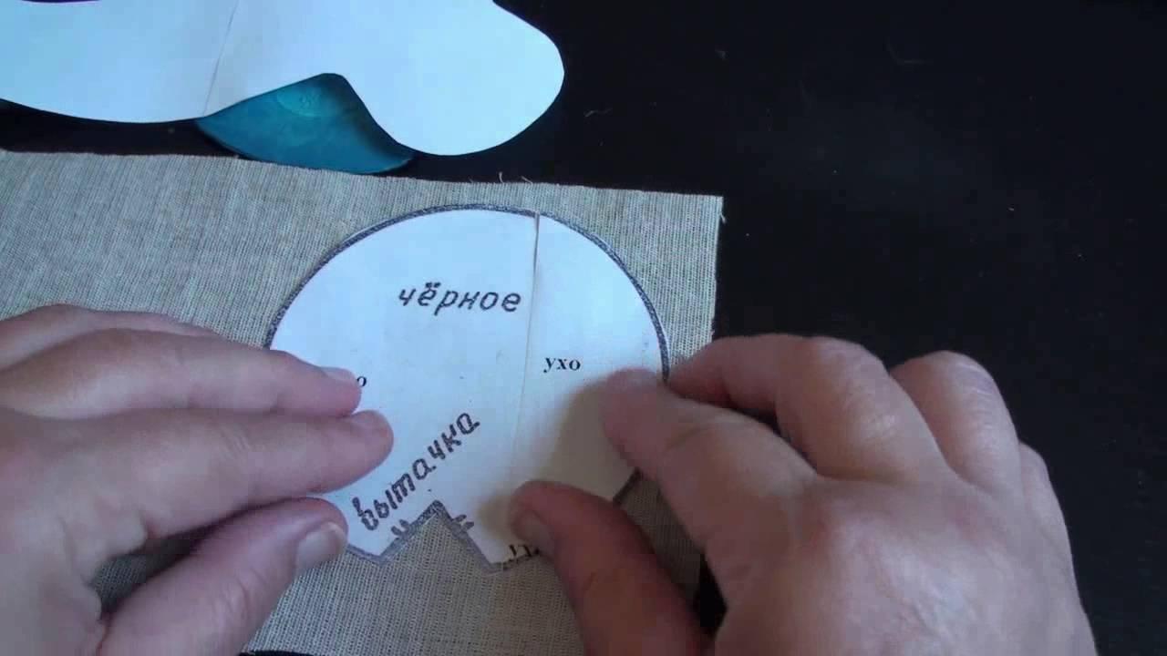 Чем перевести выкройку на ткань