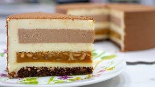 🥜СНИКЕРС 🥜. Очень ВКУСНЫЙ муссовый торт - Я - ТОРТодел!