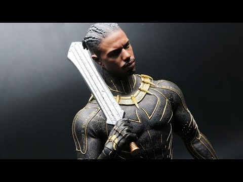 [Unboxing] Hot Toys- Black Panther. Erik Killmonger. 1/6th scale Collectible Figure