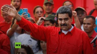 Maduro encabeza la movilización por el Día Internacional del Trabajo