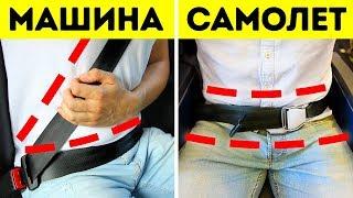 Почему в самолетах нет плечевых ремней безопасности, а в автомобилях есть
