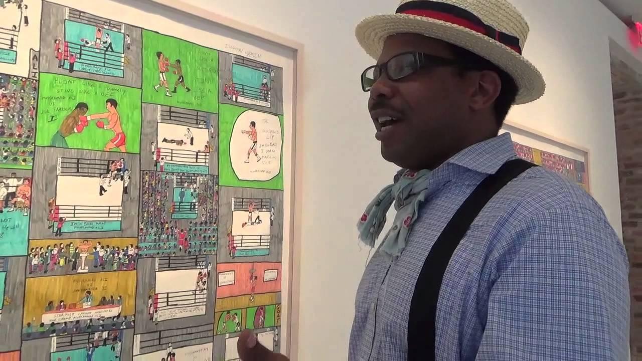 """Dapper Bruce Lafitte"" Explains His Art - YouTube"