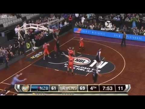 9878d9b41caf NBL Basketball Player Akil Mitchell s eye pops out after going for a ...
