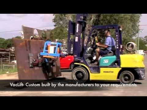 Materials Handling Vacuum Lifting Equipment - VacLift