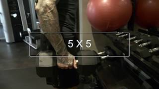 Jim Stoppani's 5x5 Training