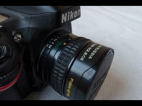 Зенит Зенитар Н 16mm F/2.8 Fisheye Lens Review