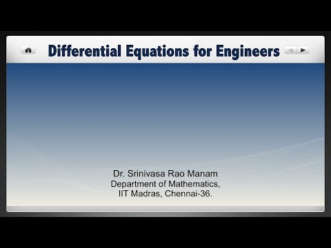 Lecture 43 - Reduction to canonical form for equations with variable coefficients