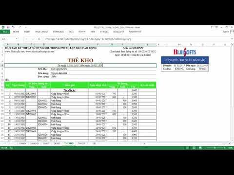File Excel quản lý kho đơn giản miễn phí