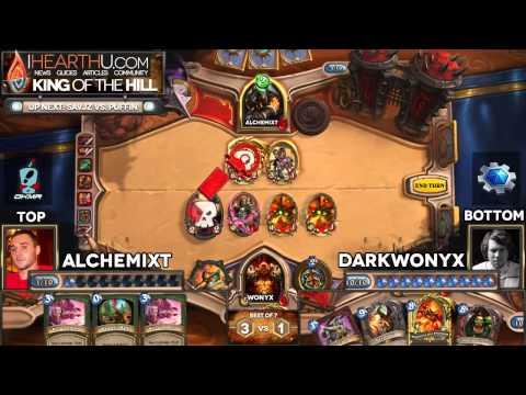Hearthstone King of the Hill #16   Alchemixt vs  Darkwonyx