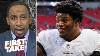 Lamar Jackson has a lot more to prove than Aaron Rodgers - Stephen A. | First Take