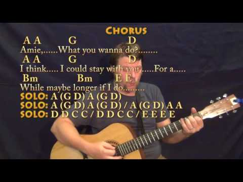 Amie (Pure Prairie League) Guitar Cover Lesson with Chords/Lyrics - Munson