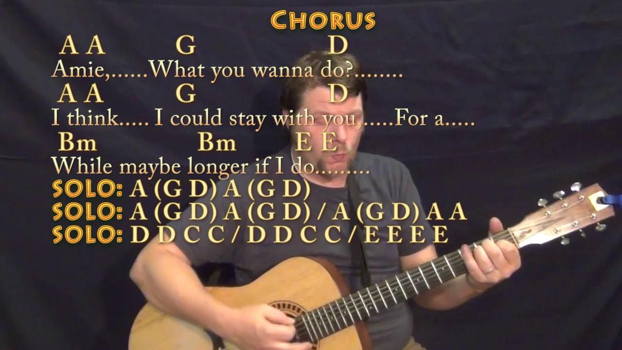 Amie Pure Prairie League Guitar Cover Lesson With Chordslyrics