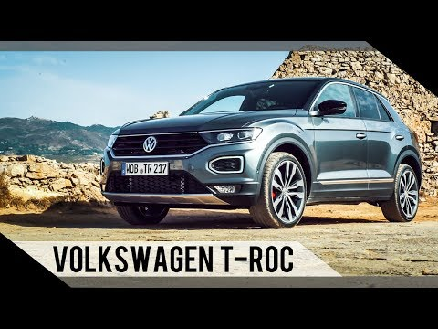 Volkswagen VW T-Roc | 2017 | Test | Review | Fahrbericht | MotorWoche