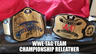 WWE world tag team/ WWE tag team championship releather!!