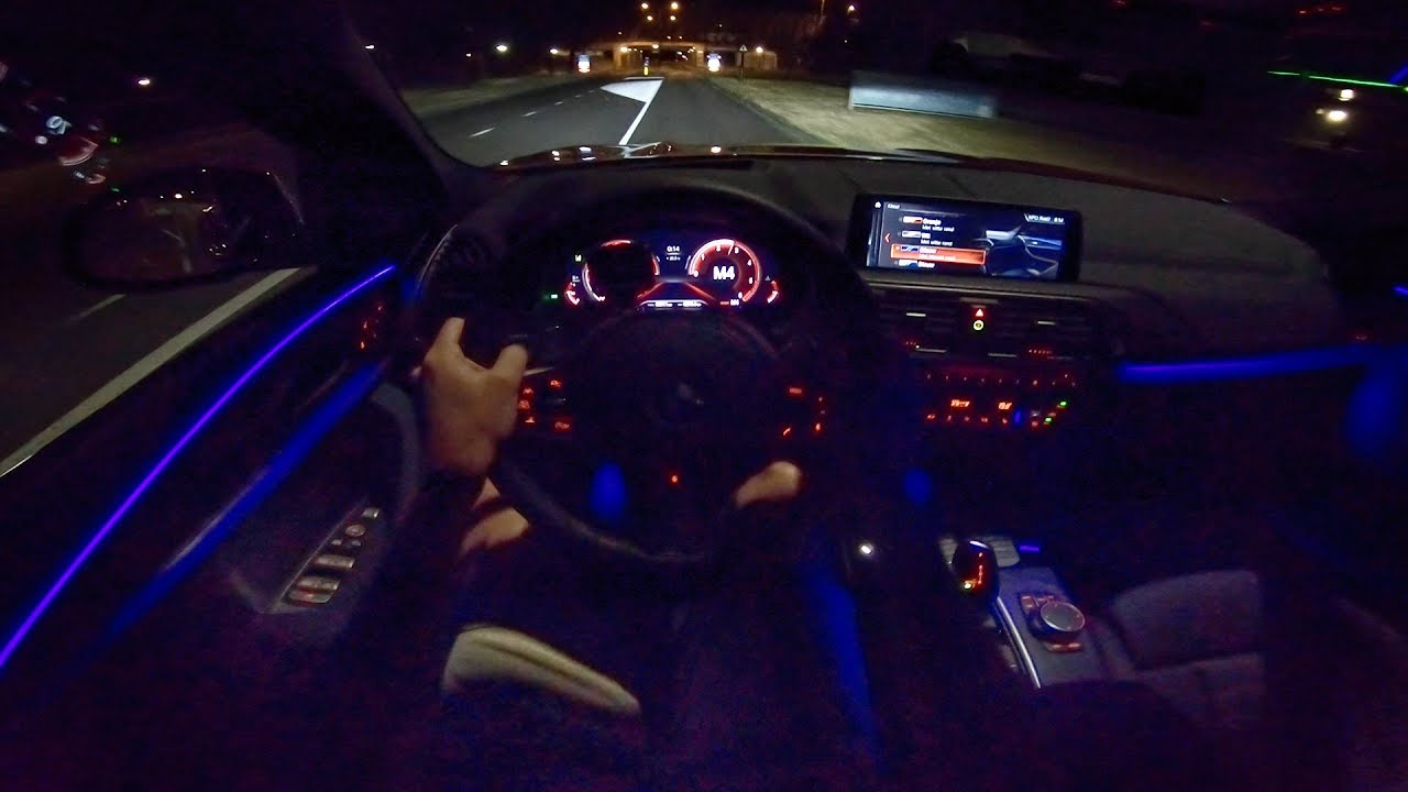 2019 Bmw X4 Night Drive Pov Interior Ambient Lighting By