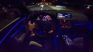2019 BMW X4 NIGHT DRIVE POV | INTERIOR AMBIENT LIGHTING by AutoTopNL