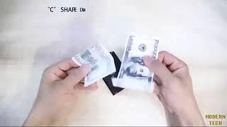 The Ridge Wallet Carbon Fiber Money Clip Minimalist Front Pocket Slim RFID