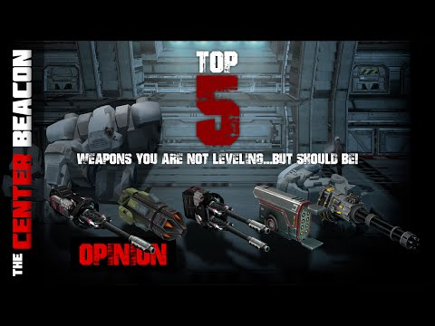 War Robots | Top 5 Weapons You Are Not Leveling...But Should Be!