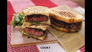 洋蔥風味香煎牛排三明治 食譜 ∣【COOKY西式料理】