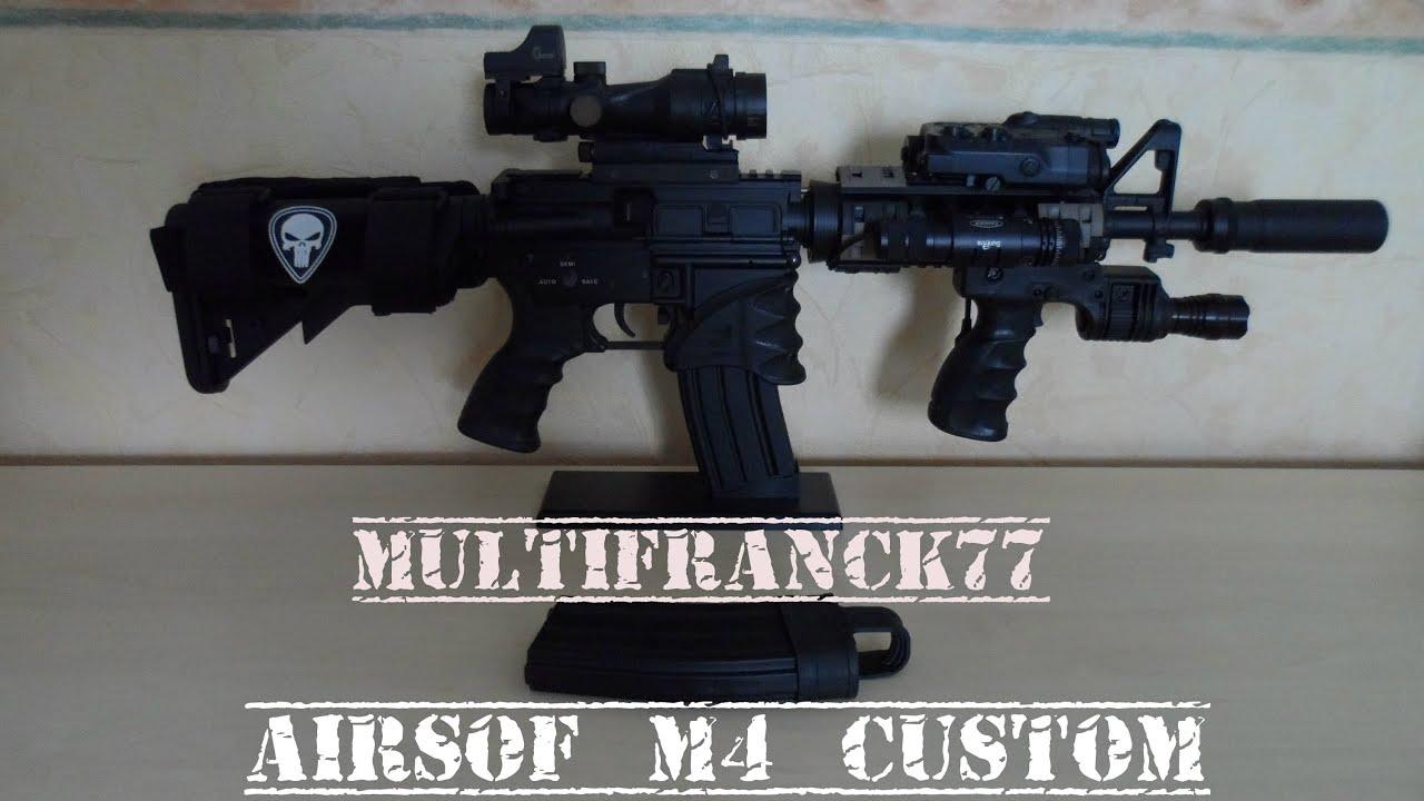 Custom airsoft m4