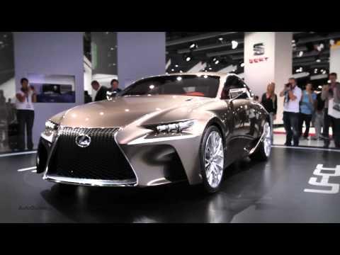 New Lexus LF-CC Coupe Concept - 2012 Paris Motor Show