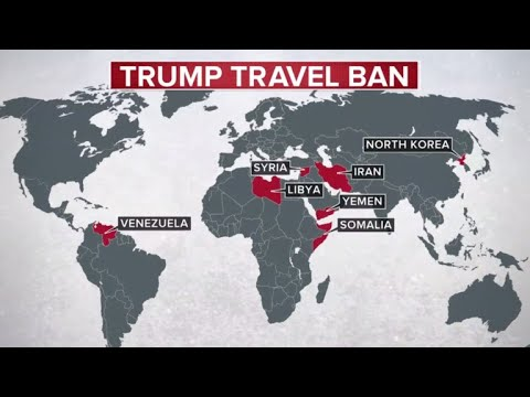 Supreme Court ruling upholds Trump's travel ban