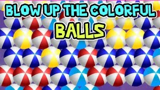 BLOW UP THE COLORFUL BALLS Level1-7 Walkthrough